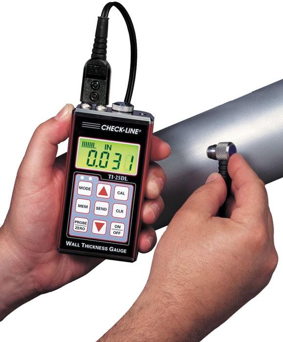 Wanddickenmessger 228 T Ultraschall Ti 25dl Mit Datenspeicher