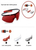 Red Glasses Leica Disto Rotglas Brille 126219